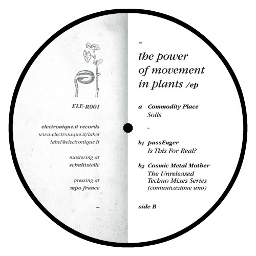 Various – 'The Power Of Movement In Plants EP' (2012)