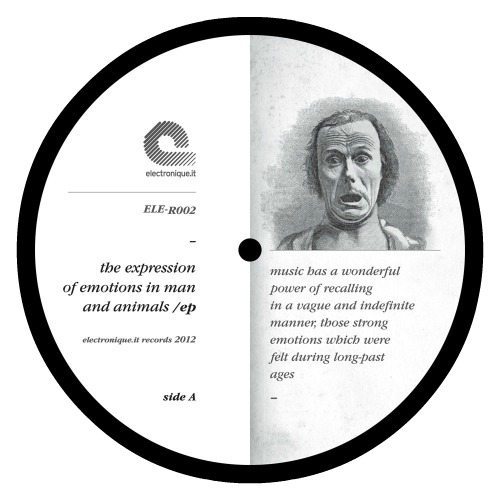 Various – 'The Expression Of Emotions In Man And Animals EP' (2012)