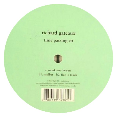 Richard Gateaux ‎– 'Time Passing EP' (2009)