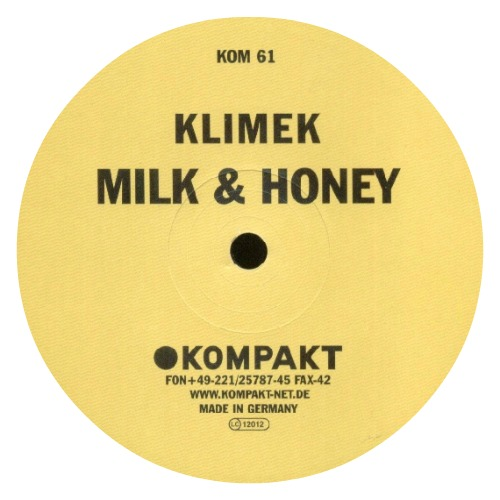 Klimek ‎– 'Milk & Honey' (2002)