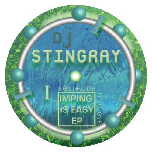 DJ Stingray ‎– 'Imping Is Easy EP' (2012)