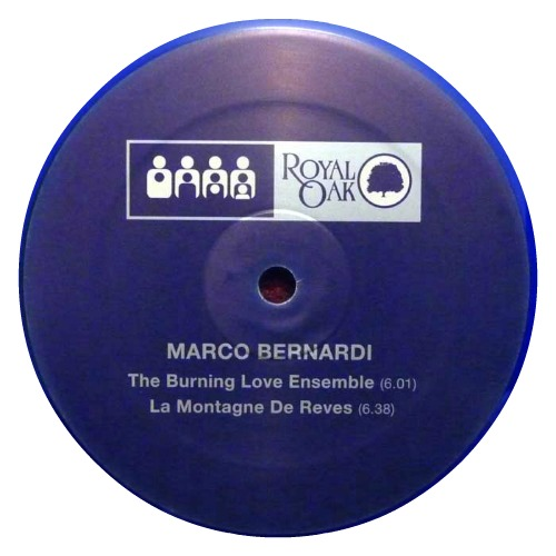 Marco Bernardi ‎– 'The Burning Love Ensemble' (2012)