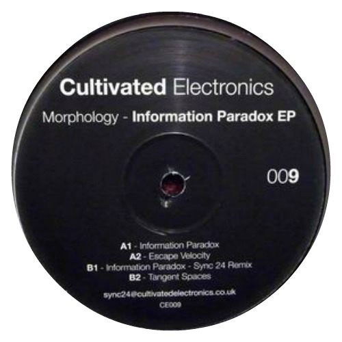 Morphology – 'Information Paradox EP' (2012)