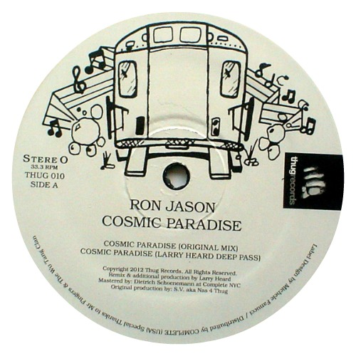 Ron Jason ‎– 'Cosmic Paradise' (2012)