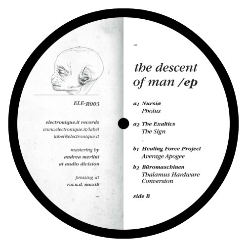 Various – 'The Descent Of Man EP' (2013)