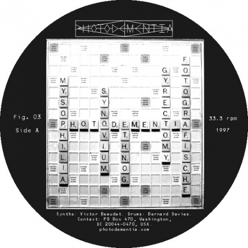 Photodementia ‎– 'Fig. 03' (2012)