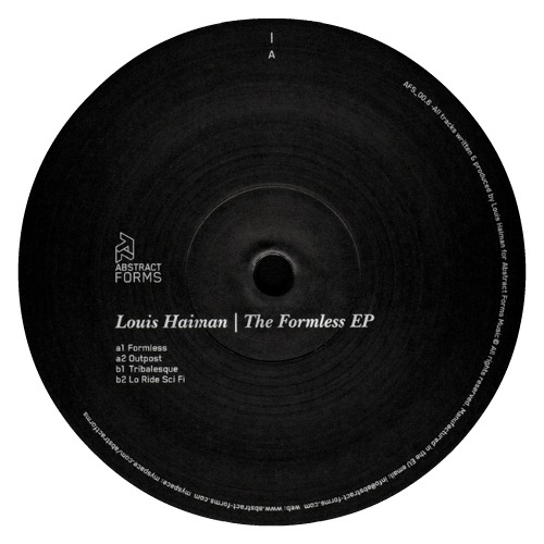 Louis Haiman ‎– 'The Formless EP' (2010)