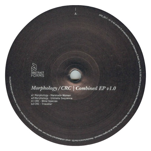 Morphology / CRC ‎– 'Combined EP V1.0' (2010)