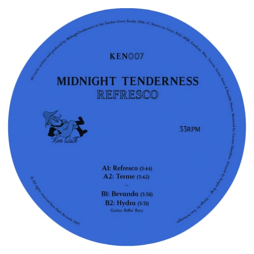 Midnight Tenderness – 'Refresco EP' (2018)