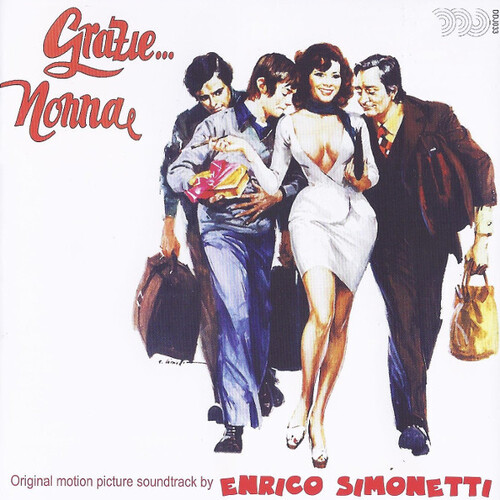 Enrico Simonetti ‎– 'Grazie... Nonna (Original Motion Picture Soundtrack)' (2014)