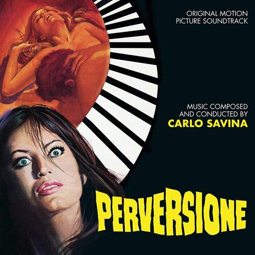 Carlo Savina – 'Perversione : Stress (Original Motion Picture Soundtracks)' (2020)